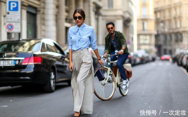 早秋穿搭有讲究,试试这几款上衣+阔腿裤,穿出别样的美