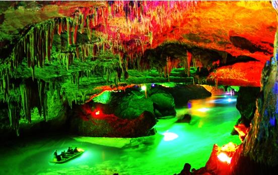 """未来将会把对本溪水洞风景区的经营,从单纯的""""旅游思维"""",向进一步的"""""""