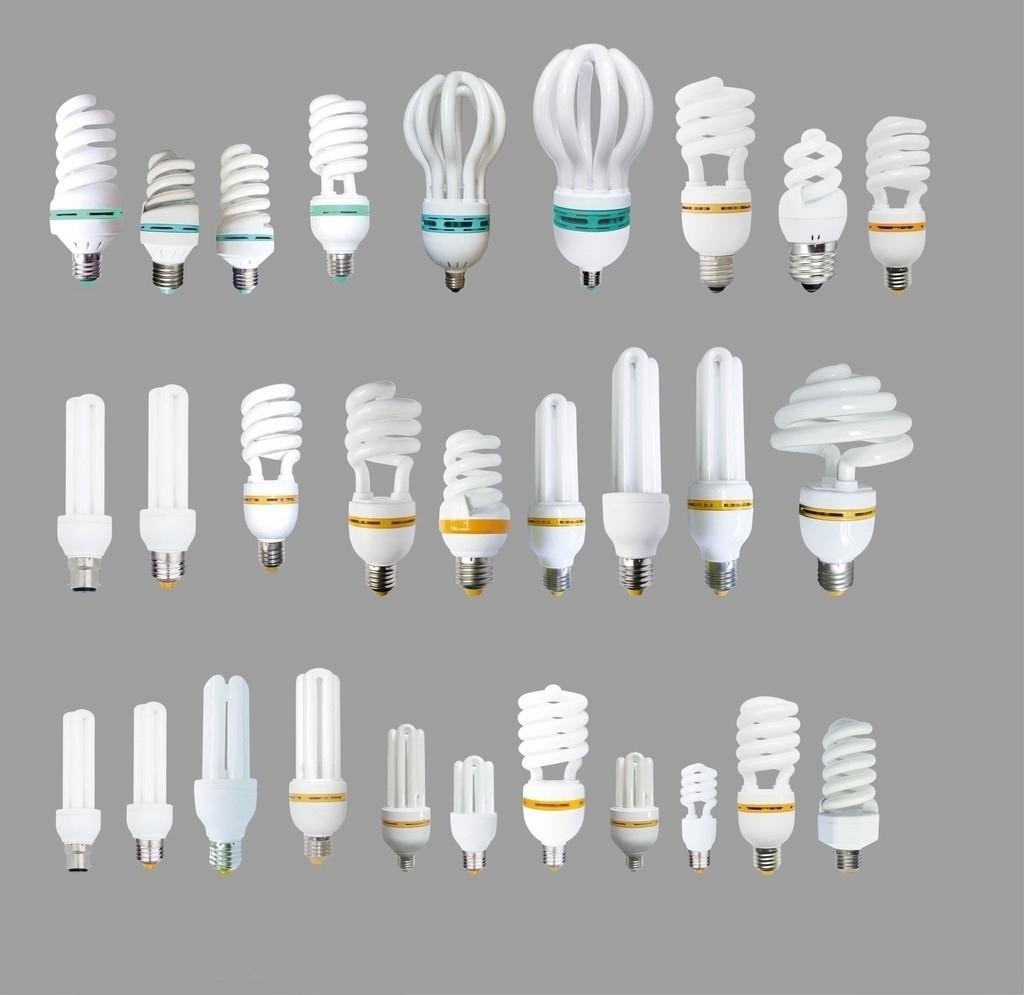 节能灯泡结构图