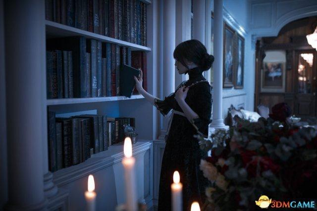 国外美女COS《巫师3》爱丽丝 神还原引玩家共鸣