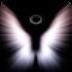 3 D天使墙纸