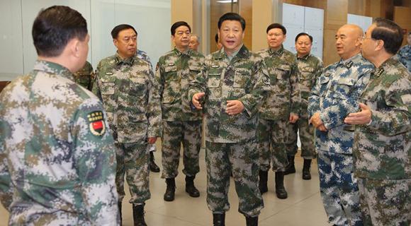 习近平:加快构建具有我军特色的联合作战指挥体系