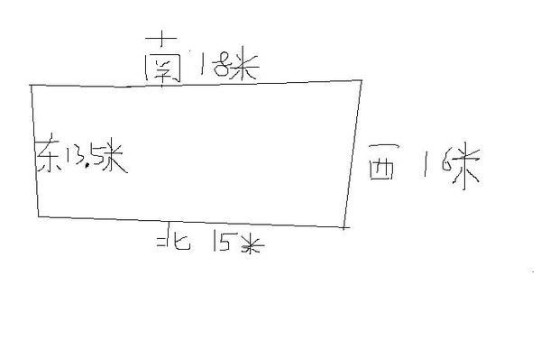在农村设计一栋三层楼房,一楼和二楼是门面房,三楼设计成两套住房