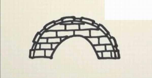 桥的简笔画-简单的桥梁怎么画