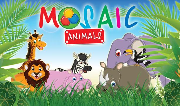 动画拼图动物