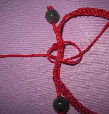 红绳手链编织方法图解