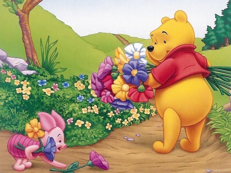 森林小熊动画图片