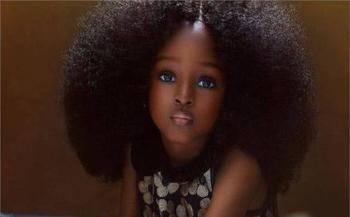 """她是真正的真人芭比,年仅五岁因美貌被称""""世界最美丽的女孩""""!_图3"""