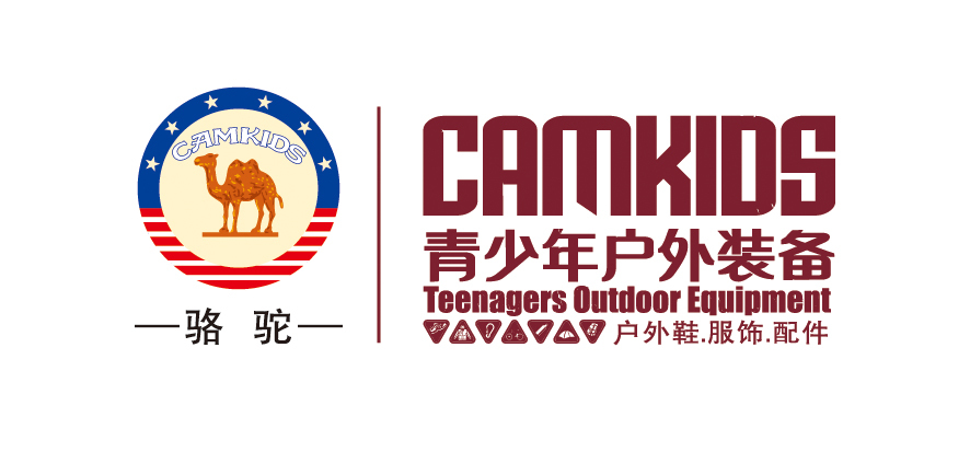 camkids 骆驼青少年户外装备 logo