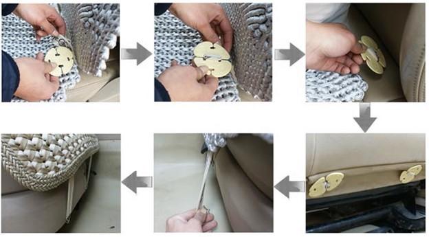 汽车座套怎么安装步骤