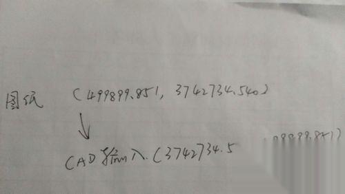cad知道图纸找点cad中v图纸图例坐标图片