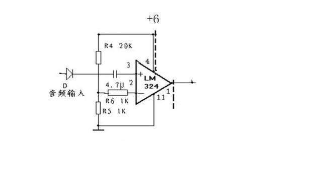 高手指点,用lm324n做了一个电压比较器,怎么不行啊.