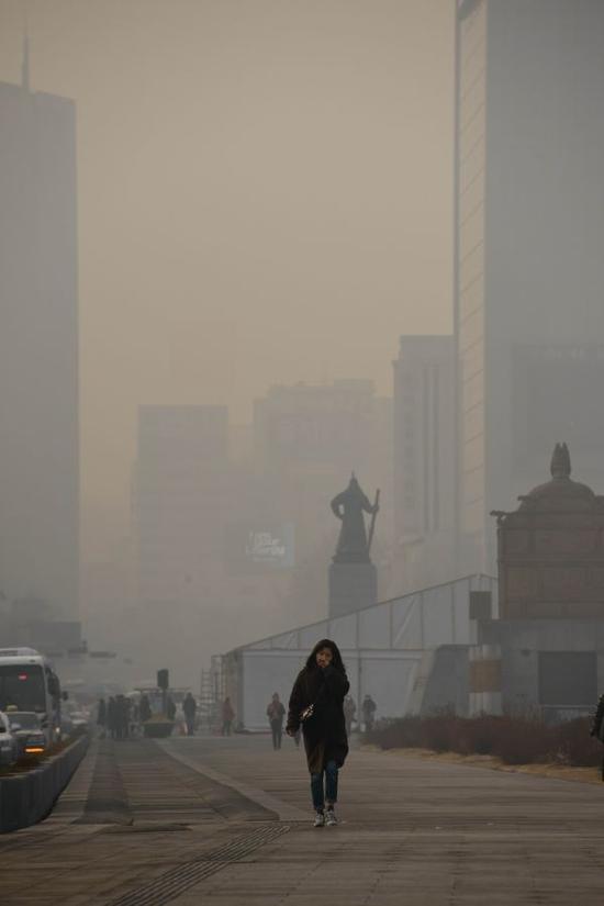 外媒:韩国成空气污染最严重国家之一 与中国无关 - 天地人 - 天地人和