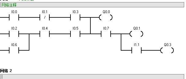 试写出只有电气互锁的正反转电路的梯形图和语句表