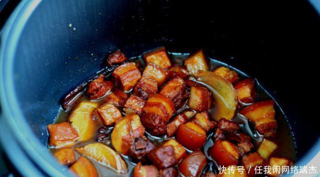酒楼美食红烧肉,软烂下饭,好吃不腻,还入味,就一传统美食麻城市华丰图片