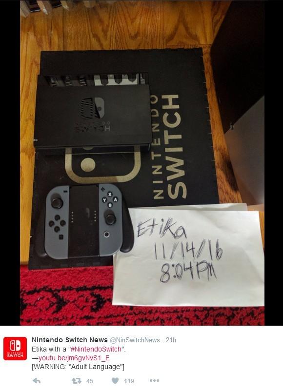 任天堂新主机switch被曝偷跑