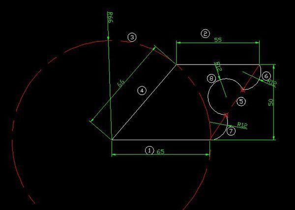 CAD中,对齐图形画以下这个方式啊,没有_cad文字求解角度图片
