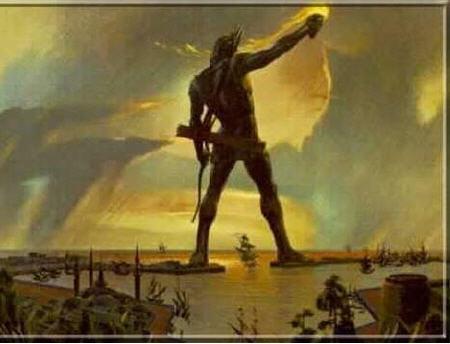 罗德港巨人雕像