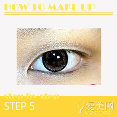 单眼皮怎么画眼线金妍儿眼线画法