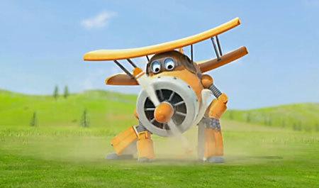 超级飞侠第三季动画片截图 飞机机器人带你环游世界