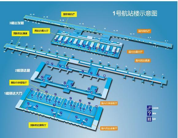 上海浦东国际机场t1航站楼怎么去