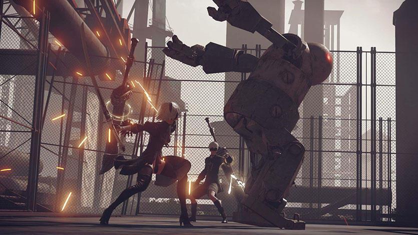 白金工作室新作《尼尔:机械纪元》PS4版预售开启