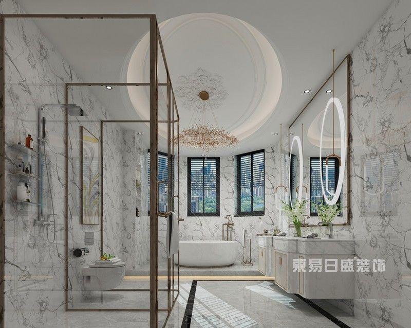 346新房装修,当大别墅中刮起轻奢风北市区昆明别墅图片