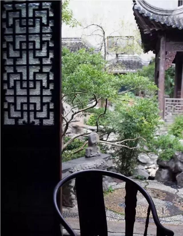 庭院设计--觉得禅与道,中式和日式你感悟哪个更给看爸爸情趣内衣穿图片