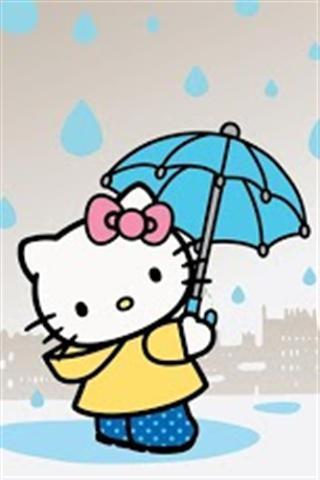 可爱的kitty动态壁纸_360手机助手
