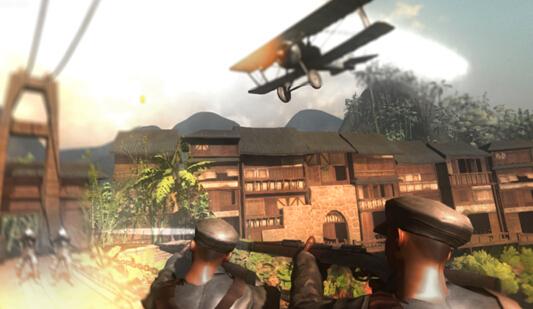 VR颠覆旅游体验新模式 首家红色旅游VR战争体验馆