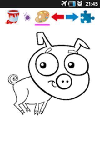 农场动物彩图