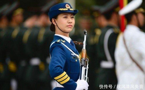 中国最美国语,女兵一点不比明星差!美女气质v国语爱图片
