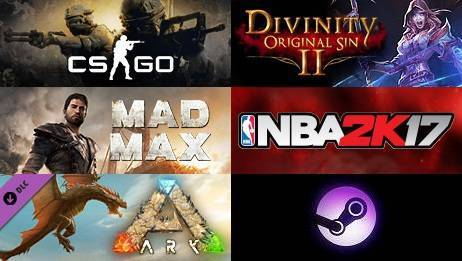 Steam一周游戏销量排行榜