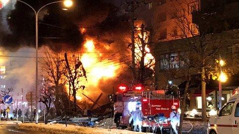 日本札幌居酒屋发生爆炸 已致40余人受伤