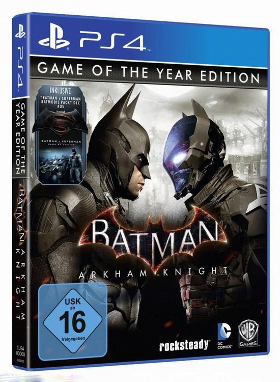 《蝙蝠侠:阿卡姆骑士》年度版7月28日上线