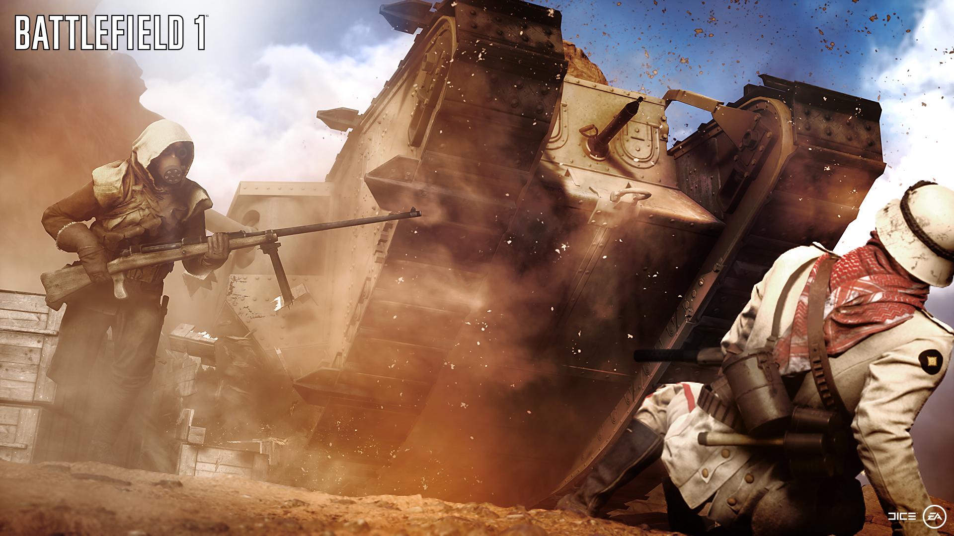 EA透露《战地1》开发趣闻