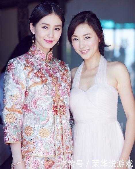 八位婚礼中式礼服最美的女星,陈紫函中国风十足