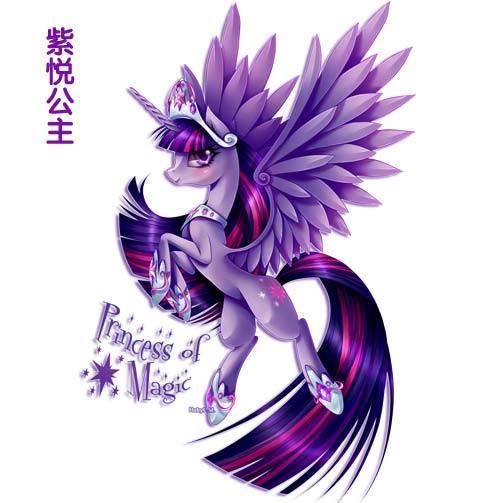 小马宝莉紫悦公主图片