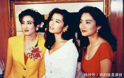 诸多女神美貌失传,但邱淑贞很幸运,大女19岁比同名沈月性感惊艳