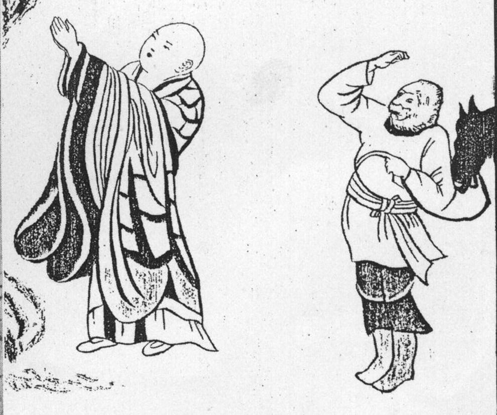 石窟里的孙悟空|原来《西游记》的故事都有原型
