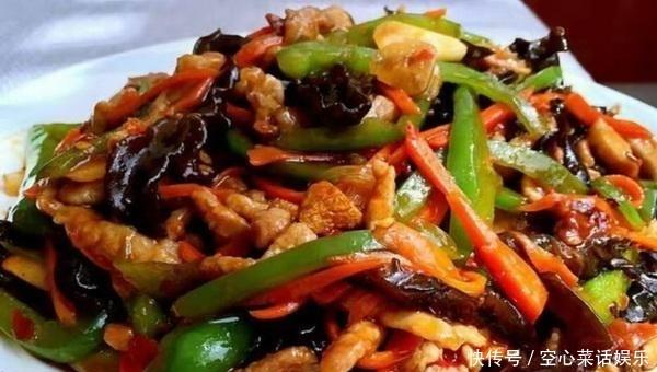 炒肉丝时,别直接下锅,学会一个技巧,肉丝鲜嫩入味,好吃又好看