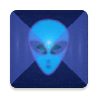 Runner in the UFO live wallpaper