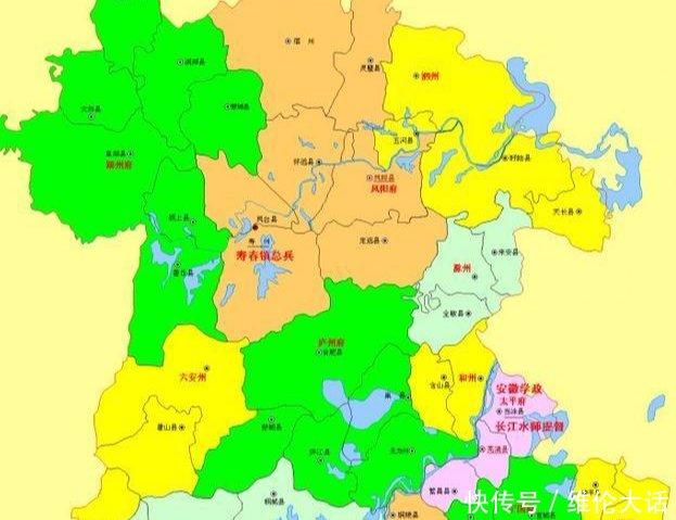 安徽行政区划的三次大变革, 你的家乡原来属于