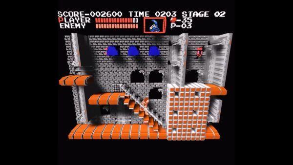 """红白机游戏变立体2.5D画面 """"3DNES""""网页版公开下载"""
