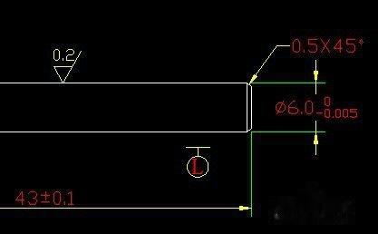 CAD标注倒角cad方式插入块快捷图片
