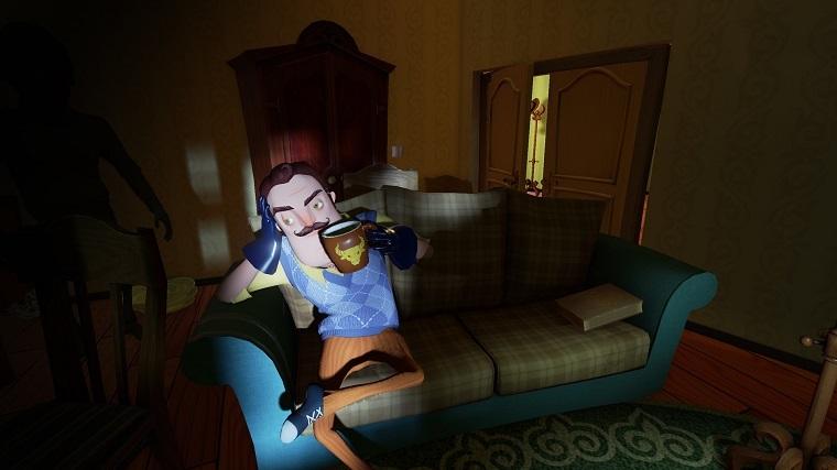 《你好邻居》游戏画面