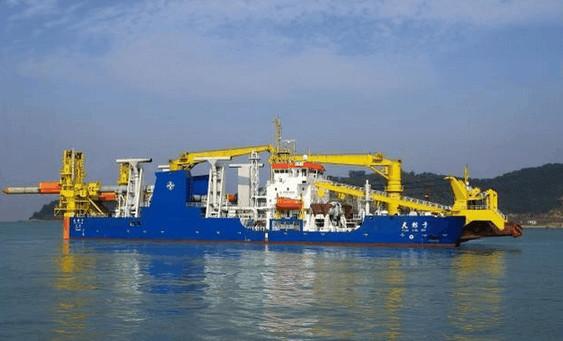 航速12节挖深30米, 吹填造地亚洲第一, 外媒关注不亚于国产航母 - 挥斥方遒 - 挥斥方遒的博客