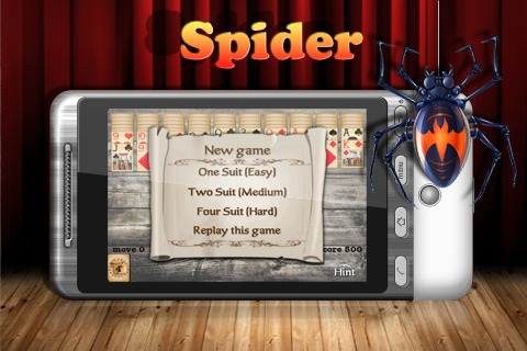 经典蜘蛛纸牌手机版安卓下载