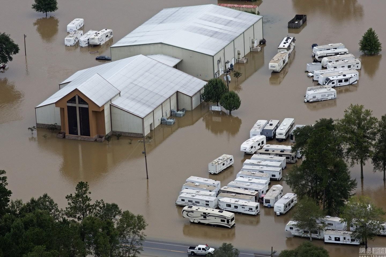 美国:路易斯安那州遭遇严重洪灾 已致9人死亡