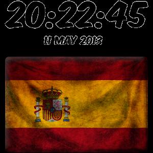 西班牙数字时钟